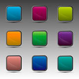 Different colorful squares