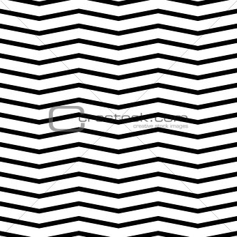 Small zigzag wave lines seamless vector pattern.