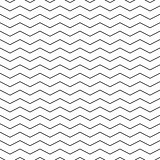 Zigzag seamless pattern - minimalistic vector background.
