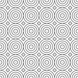 Seamless geometric decorative pattern. Minimalistic design.