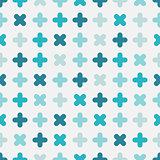 Delicate seamless pattern - minimalistic elegant design.