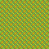 Yellow Abstract Sameless Pattern