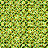 Yellow Abstract Sameless Pattern