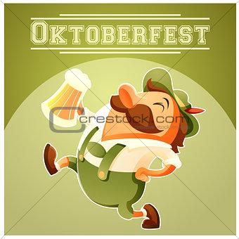 Oktoberfest beer festival banner