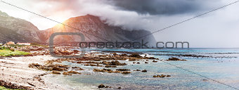 Beautiful landscape of Betty's Bay