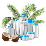 Vector Coconut Cosmetics