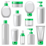 Vector Cosmetic Packaging Icons Set 13