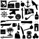 Vector Pirate Pictogram