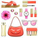 Vector Fashion Accessories Set 7