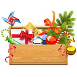 Vector Christmas Toolbox
