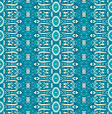 Abstract geometric striped seamless pattern