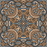 Vector ornamental geometric doodle Seamless design