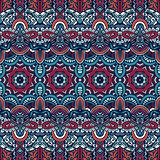 ethnic geometric striped seamless tribal pattern