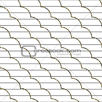 Abstract frill line diagonal vector pattern.