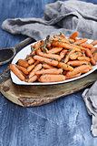 Rustic Honey Glazed Baby carrots