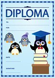 Diploma template image 1