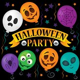 Halloween party sign topic image 2