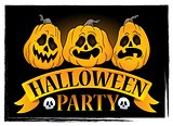 Halloween party sign topic image 3