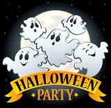 Halloween party sign topic image 4