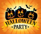 Halloween party sign topic image 5