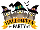 Halloween party sign topic image 8
