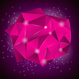 Pink Polygonal Stone