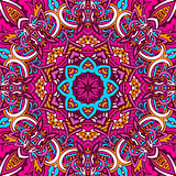 Abstract festive mandala ethnic tribal pattern