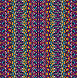 Abstract festive colorful geometric tribal pattern