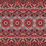 Vector Ethnic Abstract Seamless Festive pattern background ornamental