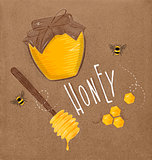 Honey elements craft