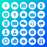 Startup Circle Solid Icons