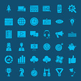 Startup Glyph Web Icons