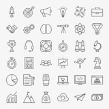 Startup Line Icons