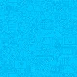 Startup Line Tile Pattern