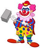 evil scary clown