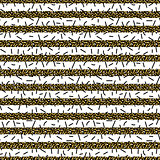 Glitter stripes and black thin particles seamless pattern.