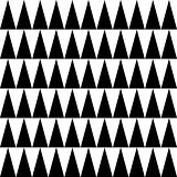 High peak triangle seamless vector pattern.