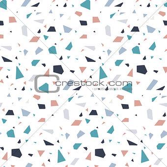 Abstract granite stone terrazzo floor texture background.