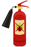 Fire extinguisher logo.