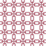 Net of chain in pink design
