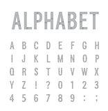 Creative paper alphabet.