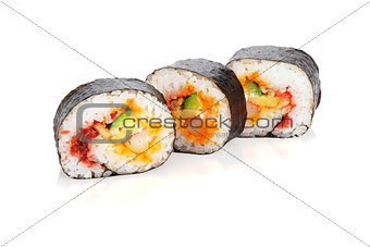 Sliced Sushi Roll
