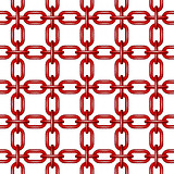 Net of chain in red design