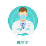 doctor dentist concept
