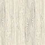 Seamless wood grain pattern. Wooden texture vector background.