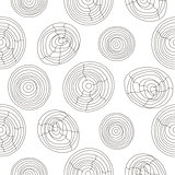 Seamless cork wood white pattern. Wooden texture vector background.