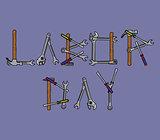 labor day text repair tools