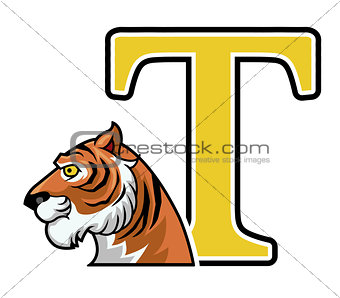 tiger initial