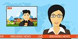 live news broadcasting