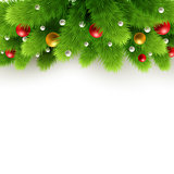 Christmas background Vector illustration.